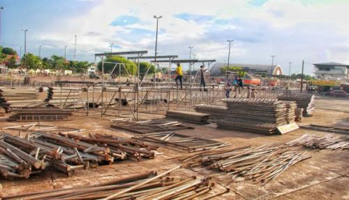 Carnailha 2020: Prefeitura De Parintins Inicia Montagem De Estrutura Carnavalesca