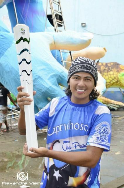 Erick Beltrão é o novo pajé do Boi Caprichoso