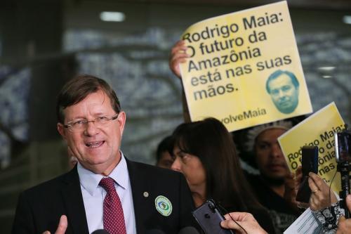 José Ricardo pretende derrubar decreto sobre Conselho da Amazônia de Jair Bolsonaro