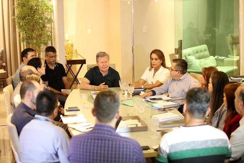 Prefeito Arthur Neto acompanha andamento das obras que devem ser entregues até o final de 2020