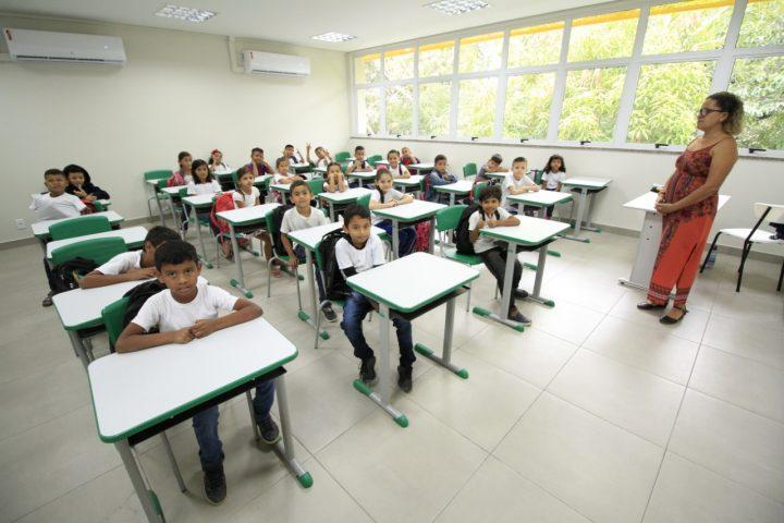 Em Manaus Rede municipal reduziu em 84,4% o abandono escolar