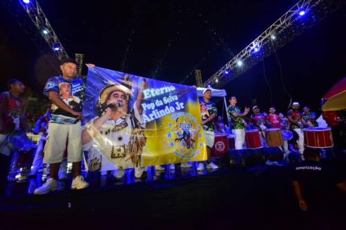 Homenagem a Arlindo Júnior emociona o público no Carnaboi 2020