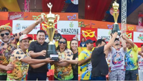 Ursos Polares e Chitara da Chapada são os campeões do Carnailha 2020