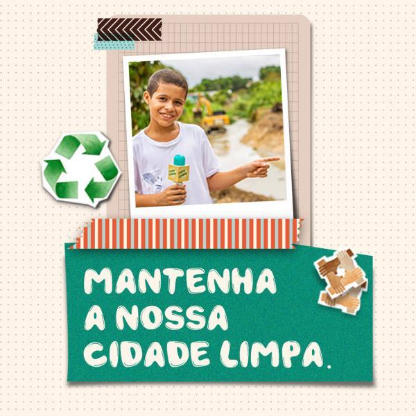 ESPECIAL PUBLICITÁRIO: Cuidar do lixo é um ato de respeito e amor com a cidade