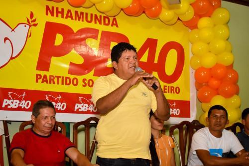 Cabeça lança pré-candidatura a prefeito pelo  PSB na cidade de Nhamundá
