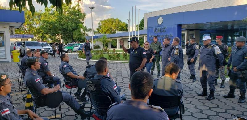 SSP-AM, Polícia Militar e FVS-AM realizam operação em bares e restaurantes na capital e no interior