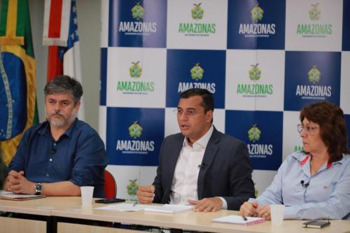 Governador Wilson Lima autoriza pesquisa do uso da cloroquina contra o novo Coronavírus, em pacientes do AM