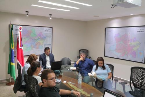 Wilson Lima apresenta demandas do Amazonas ao presidente Jair Bolsonaro durante videoconferência