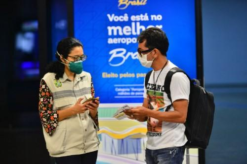 FVS-AM passa a monitorar remotamente quem desembarca em Manaus pelo aeroporto