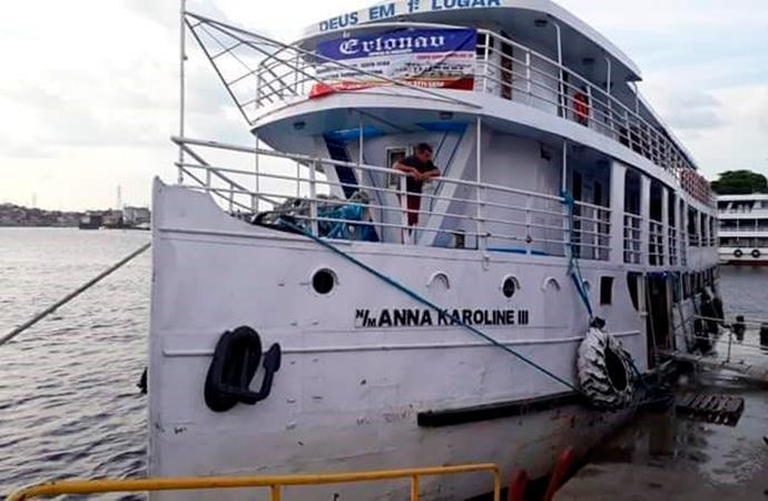 Polícia Civil prende comandante do Anna Karoline III por ordem da Justiça em Santana-AP