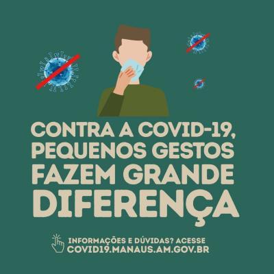 Coronavírus: pequenos gestos fazem grande diferença!