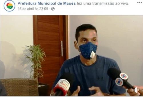 Maués tem duas mortes pelo Coronavírus, veja comunicado do prefeito Junior Leite