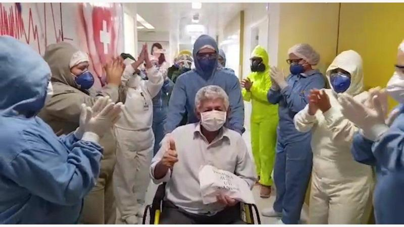 Hospital Delphina Aziz registra sete altas médicas coronavírus
