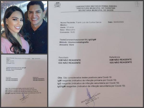 Prefeito Bi Garcia e esposa Mayra testam negativo para Coronavírus