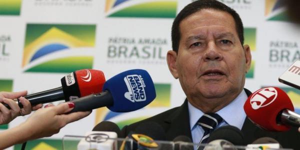 Vice-presidente Mourão testa negativo no exame de coronavírus