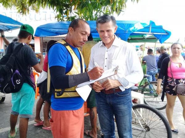 Juscelino deixa presidência da OAB/PIN para disputar prefeitura de Parintins