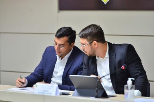 Wilson Lima e Carlos Almeida seguem com muito trabalho pela frente, diz governador do Amazonas