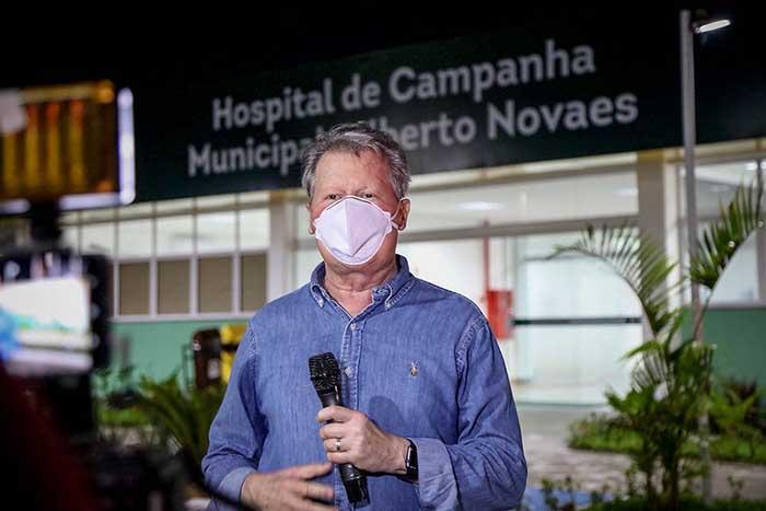 Prefeito Arthur preocupado com a situação das populações indígenas contaminas na pandemia