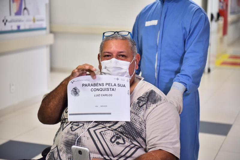 No Hospital Delphina Aziz144 pacientes já tiveram alta médica e venceram o Coronavírus