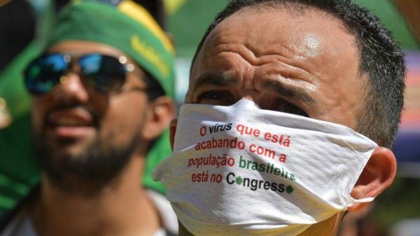 Deputados querem todo mundo de máscara. Isso é maluquice