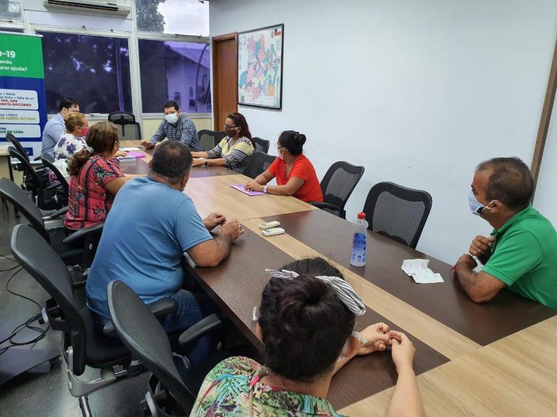 Susam pede apoio à Defensoria para ajudar ex-servidores temporários a receber auxílio emergencial