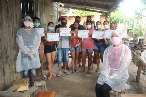 Dez integrantes da família Brandão estão curados do Coronavírus em BVR no Amazonas
