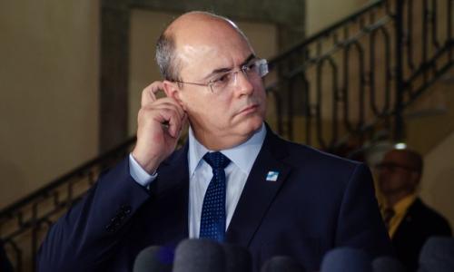Governador Witzel reúne o secretariado e diz que não renuncia