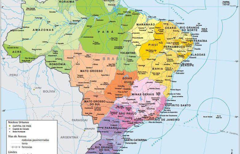Mais de 660 municípios brasileiros tiveram territórios atualizados pelo IBGE