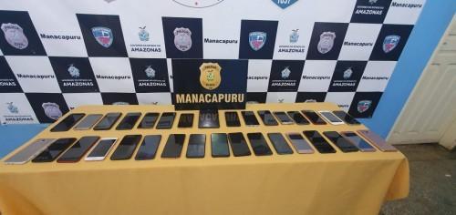 Polícia Civil de Manacapuru recupera 32 celulares roubados ou furtados no município