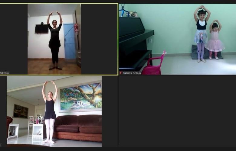SESI Amazonas oferece aulas virtuais de balé para crianças e adultos