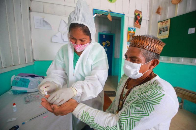 Susam integra missão de enfrentamento à Covid-19 em comunidades do Rio Negro