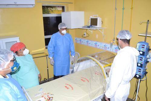 Hospital Jofre Cohen ganha mais uma ala com leitos para combater o COVID-19 e atender população