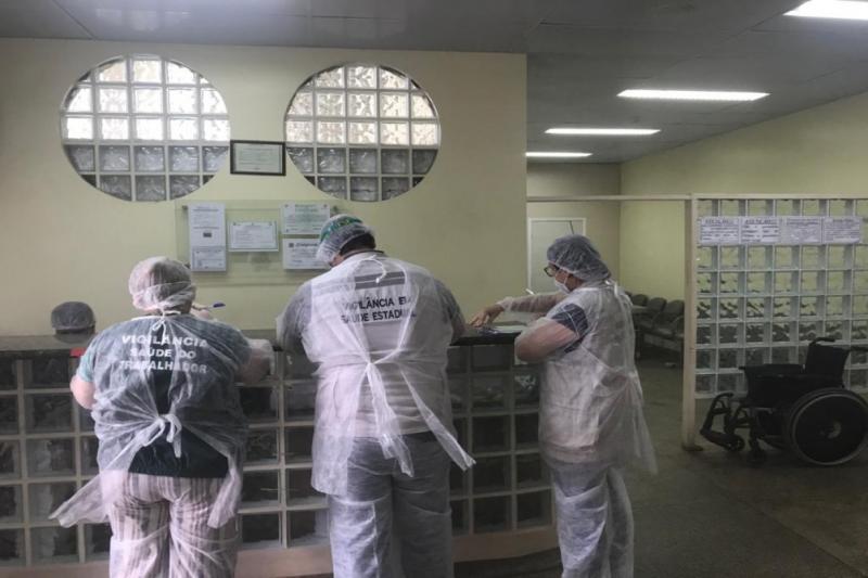 FVS-AM orienta hospitais de campanha do interior do Amazonas sobre recomendações da Anvisa