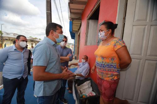 Wilson Lima inaugura obras do Prosamim no bairro Presidente Vargas, com investimentos de R$ 137 milhões