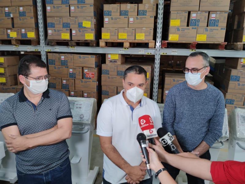 Seap realiza entrega de respiradores recuperados para a rede estadual de saúde