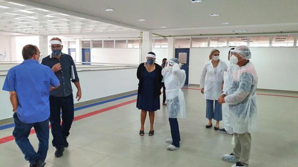 Mistério Público do AM  inspecionou a gestão dos bens do hospital de campanha municipal de Manaus