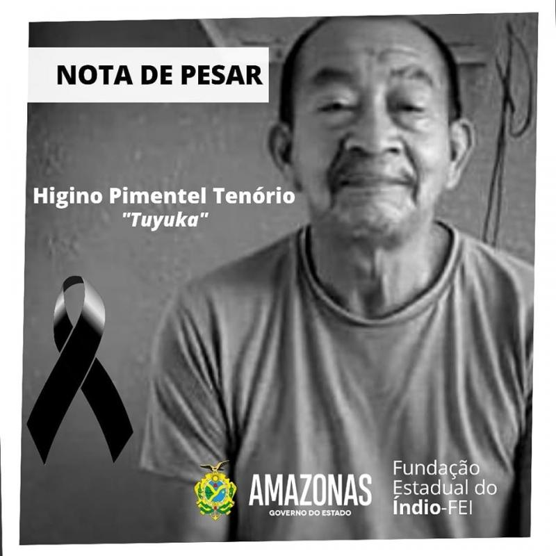 Morte do indígena Higino Tenório; Governador Wilson Lima e prefeito Arthur Neto emitem nota de pesar