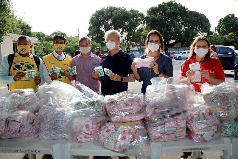 Prefeitura de Manaus recebe mais de cinco mil máscaras doadas pela Igreja de Jesus Cristo dos Santos dos Últimos Dias (Mórmons)