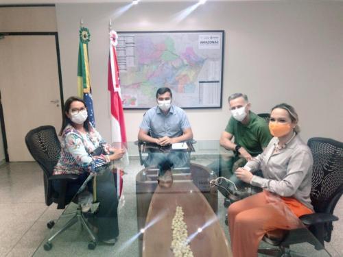 Wilson Lima reúne com líderes da oposição em Parintins e trata sobre eleição 2020