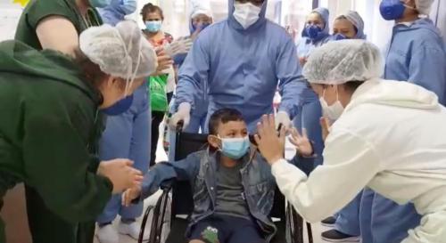 Hospital Delphina Aziz atinge a marca de 829 altas médicas de COVID-19