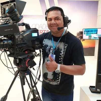 Cinegrafista Tayllon Peres que filmou goteiras em Hospital de Roraima, morreu de Coronavírus
