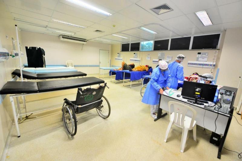 Hospital 28 de Agosto retoma rotina de visitas a pacientes