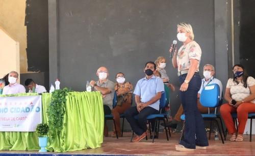 Secretária da Seas destaca investimento do Governo na área social em Manaquiri