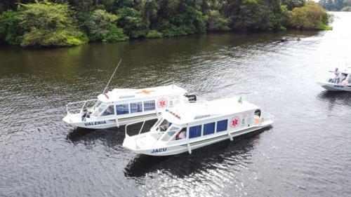 Regiões da Valéria e Rio Jacu são beneficiadas com ambulanchas