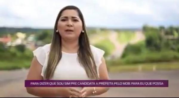 Patrícia Lopes lança pré-candidatura a prefeitura de Presidente Figueiredo