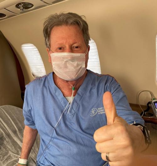 Arthur Neto continua tratamento contra Coronavírus, agora  em São Paulo