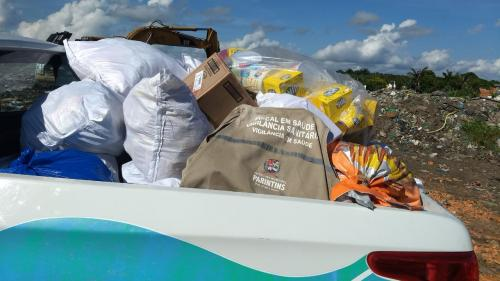 Vigilância Sanitária de Parintins já apreendeu 8 toneladas de alimentos e bebidas em apenas 07 dias