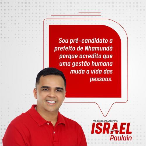 Israel Paulain apresenta pré-candidatura a prefeito  visando a eleição 2020 em  Nhamundá