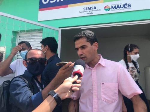 Júnior Leite seria reeleito hoje prefeito de Maués, indica Pontual