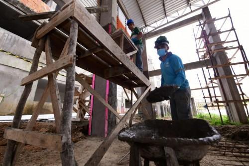 Em Fonte Boa, Governo do Amazonas prossegue com construção de Ceti e obras de infraestrutura